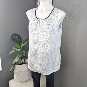 The Limited White Dot Tank